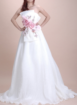セレブ系◆KA094◆ウェディングドレス・ハイウェストの姫様ドレス /結婚式パーティー用::1411【レディースファッション】記念日向けギフトの通販サイト「バースデープレス」