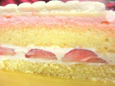 写真ケーキ  スクエア 9号 27cmの画像3枚目