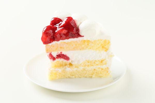 【ポイント10倍】季節限定!ラズベリーのバースデーケーキ6号(約18cm)の画像4枚目