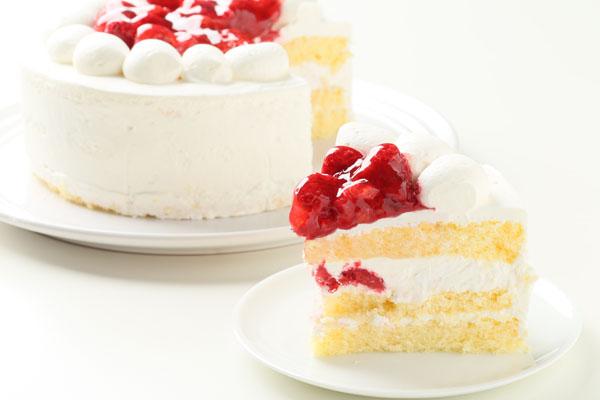 【ポイント10倍】季節限定!ラズベリーのバースデーケーキ4号(約12cm)の画像5枚目