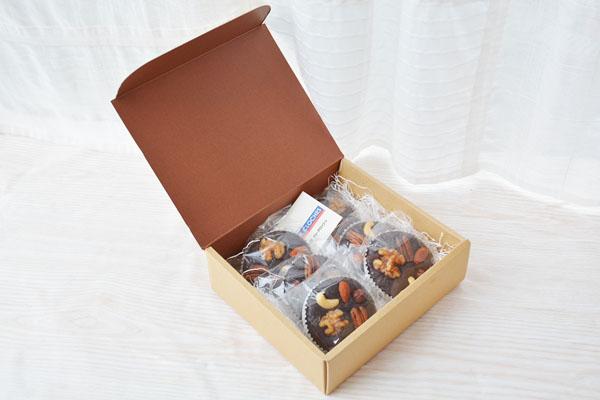ブラウニー 6個入り【チョコ ケーキ スイーツ 誕生日 バースデー プレゼント 贈り物 ギフト お祝い】の画像4枚目