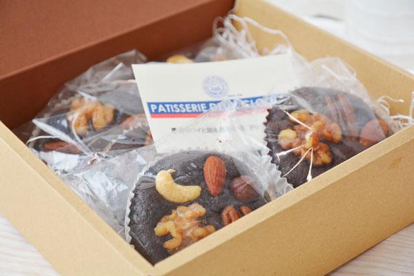 ブラウニー 6個入り【チョコ ケーキ スイーツ 誕生日 バースデー プレゼント 贈り物 ギフト お祝い】の画像3枚目