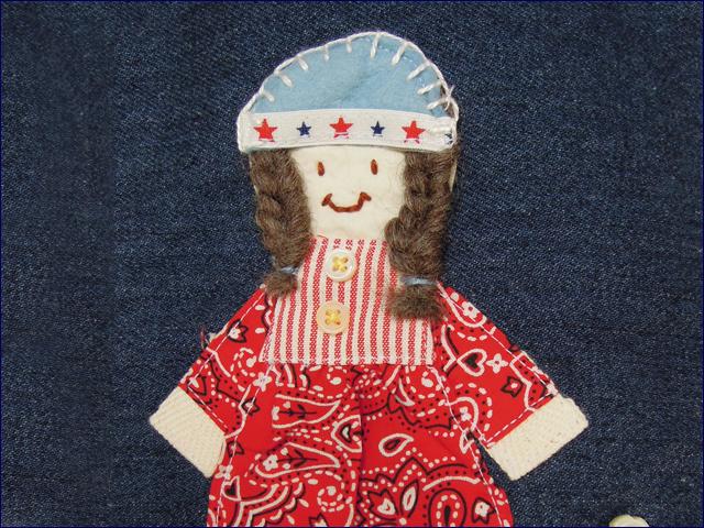 KAZUオリジナル・シューズバッグ(女の子)【バッグ ハンドメイド 子供 誕生日 バースデー プレゼント 贈り物 ギフト お祝い】の画像2枚目