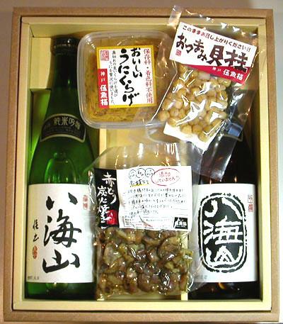 日本酒720ml瓶2本&こだわりのおつまみセット(T-1001)【お酒 アルコール 誕生日 バースデー プレゼント 贈り物 ギフト お祝い】【水・ソフトドリンク】記念日向けギフトの通販サイト「バースデープレス」