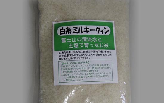白糸ミルキークィン!! 5kg【食品 お米 誕生日 バースデー プレゼント 贈り物 ギフト お祝い】の画像1枚目