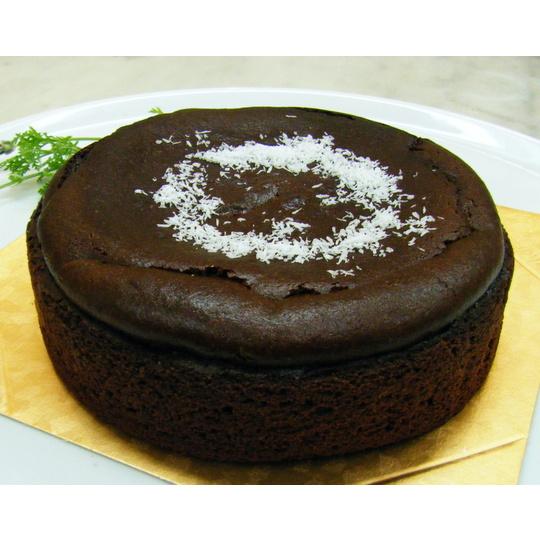 ガトーショコラ15cm(卵・乳・小麦不使用)【デコレーション デコ ケーキ スイーツ 誕生日 バースデー プレゼント 贈り物 ギフト お祝い】