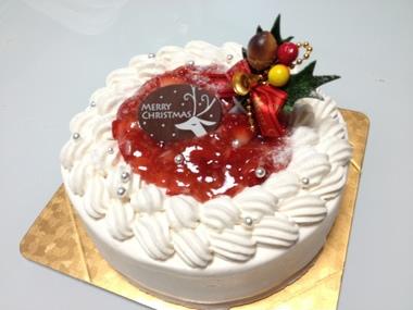 【クリスマスケーキ2016】FRAISE 苺クリームのケーキ