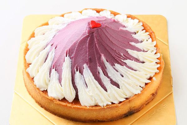 紫芋のタルト 5号 15cmの画像1枚目