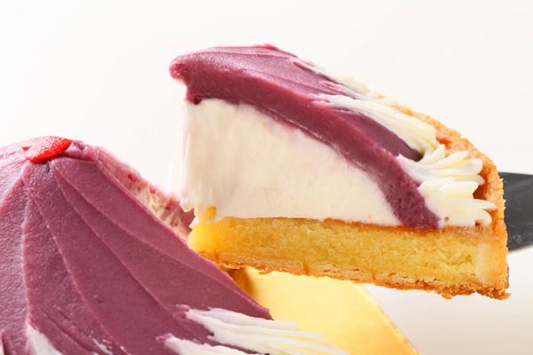 紫芋のタルト 5号 15cmの画像3枚目