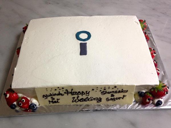 【東京 横浜市、みなとみらい近辺配送】【送料無料】【パーティ用 ウエディング用ケーキの生ケーキを宅配】【40×60cm】グランドピアノの画像6枚目