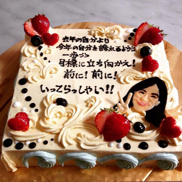 【東京 横浜市、みなとみらい近辺配送】【送料無料】【パーティ用 ウエディング用ケーキの生ケーキを宅配】【40×60cm】グランドピアノの画像3枚目