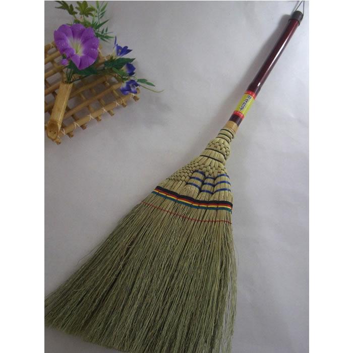手編み座敷ほうき 竹【掃除 誕生日 バースデー プレゼント 贈り物 ギフト お祝い】の画像1枚目