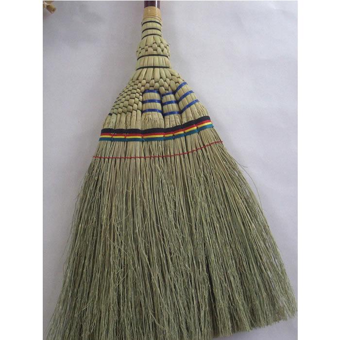手編み座敷ほうき 竹【掃除 誕生日 バースデー プレゼント 贈り物 ギフト お祝い】の画像2枚目