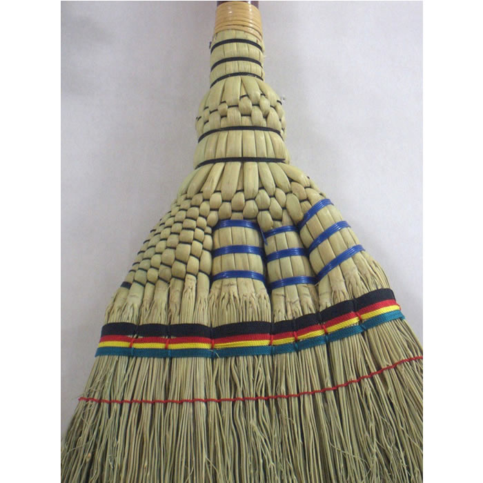 手編み座敷ほうき 竹【掃除 誕生日 バースデー プレゼント 贈り物 ギフト お祝い】の画像3枚目