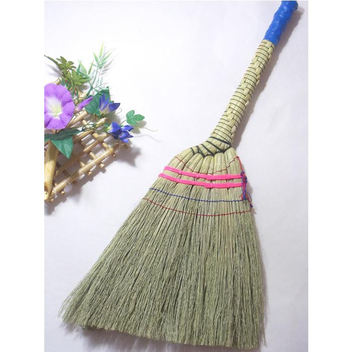 手編み座敷ほうき【掃除 誕生日 バースデー プレゼント 贈り物 ギフト お祝い】の画像1枚目