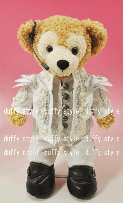 Sサイズ 43cm ダッフィー 服 2013白王子衣装T 464B::1533【バッグ・小物・ブランド雑貨】記念日向けギフトの通販サイト「バースデープレス」