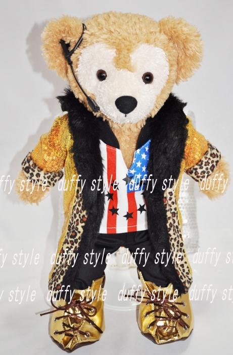 Sサイズ 43cm ダッフィー 服 ゴールドジャケット衣装 427::1533【バッグ・小物・ブランド雑貨】記念日向けギフトの通販サイト「バースデープレス」