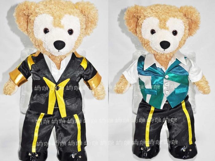 Sサイズ 43cm ダッフィー 服 黄色ラインスーツ 緑 340A::1533【バッグ・小物・ブランド雑貨】記念日向けギフトの通販サイト「バースデープレス」