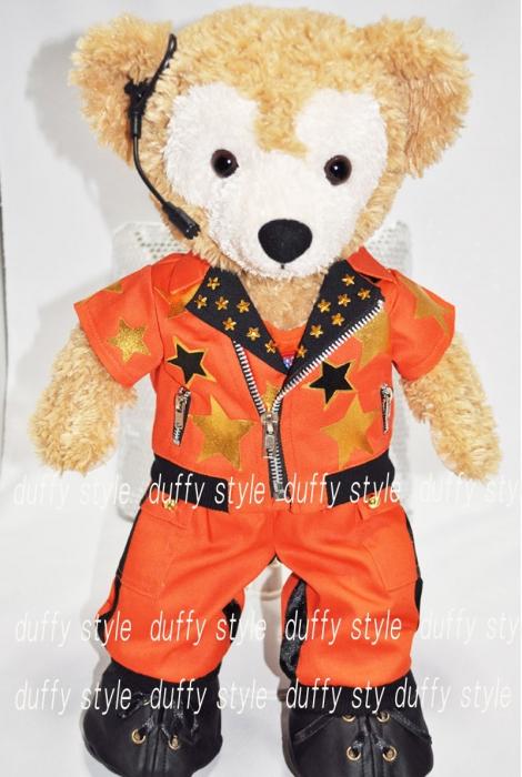 Sサイズ 43cm ダッフィー 服 星柄衣装 オレンジ 335::1533【バッグ・小物・ブランド雑貨】記念日向けギフトの通販サイト「バースデープレス」
