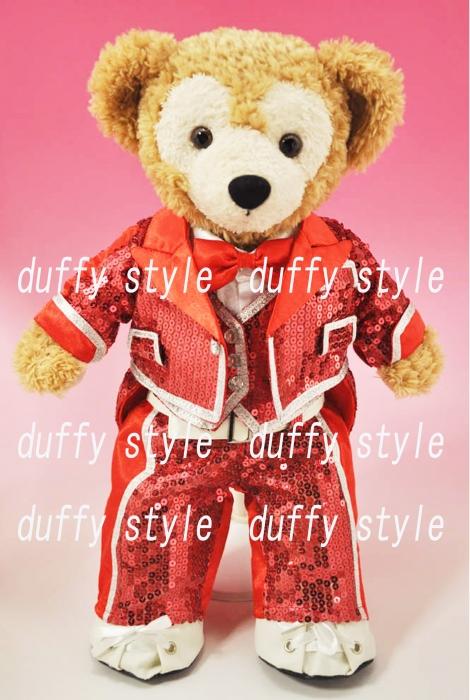Sサイズ 43cm ダッフィー 服 twinkle衣装 赤 443A::1533【バッグ・小物・ブランド雑貨】記念日向けギフトの通販サイト「バースデープレス」