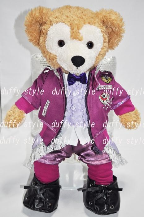Sサイズ 43cm ダッフィー 服 ミント紫ジャケット衣装 425C::1533【バッグ・小物・ブランド雑貨】記念日向けギフトの通販サイト「バースデープレス」