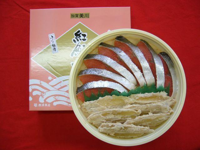 紅鮭・ふぐ粕漬セット(贈答用)【魚 食品 誕生日 バースデー プレゼント 贈り物 ギフト お祝い】