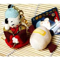 縮緬ストラップ★★・福助【小槌】::1587【バッグ・小物・ブランド雑貨】記念日向けギフトの通販サイト「バースデープレス」