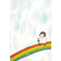 ポストカード 『にじ』::1587【バッグ・小物・ブランド雑貨】記念日向けギフトの通販サイト「バースデープレス」