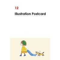ポストカード12点セット::1587【バッグ・小物・ブランド雑貨】記念日向けギフトの通販サイト「バースデープレス」