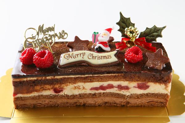 【クリスマスケーキ2016】バニラとチョコの極上ブッシュ・ド・ノエルの画像1枚目