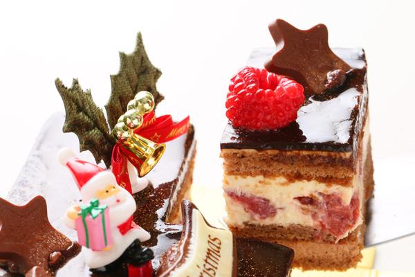 【クリスマスケーキ2016】バニラとチョコの極上ブッシュ・ド・ノエルの画像3枚目