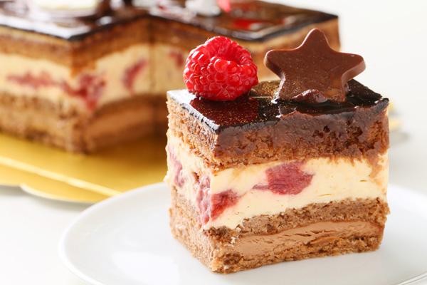 【クリスマスケーキ2016】バニラとチョコの極上ブッシュ・ド・ノエルの画像5枚目