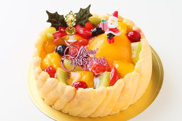 【クリスマスケーキ2016】フルーツトルテデコレーション