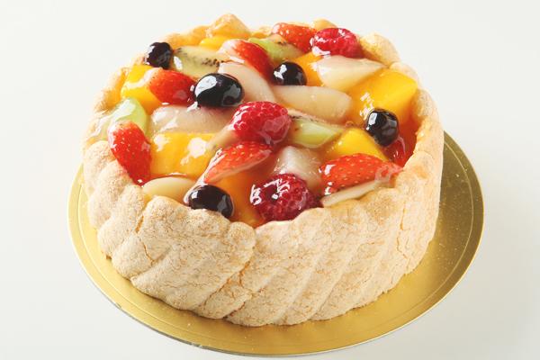 フルーツデコレーションケーキ 6号サイズ