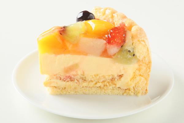 フルーツデコレーションケーキ 5号サイズ(15cm)3〜5人用の画像4枚目