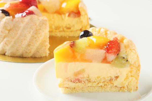 フルーツデコレーションケーキ 5号サイズ(15cm)3〜5人用の画像5枚目