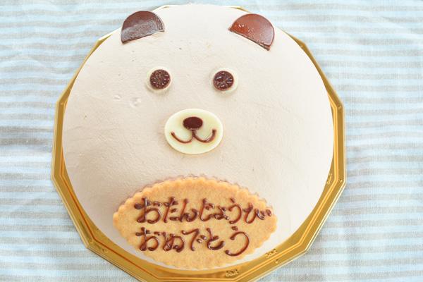 動物ケーキ 4号サイズ