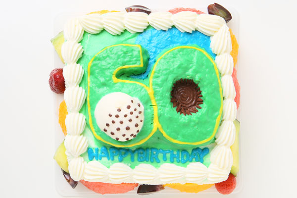 立体ナンバーケーキ 4号 12cm