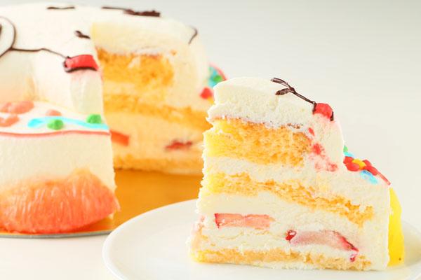 立体キャラクターケーキ 5号 15cmの画像8枚目