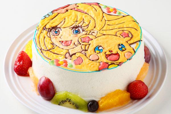 イラストデコレーションケーキ 8号 24cmの画像2枚目