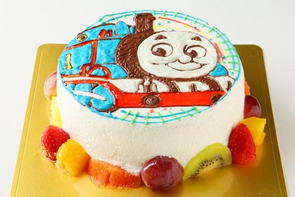 イラスト1体のみ イラストデコレーションケーキ 4号 12cmの画像5枚目