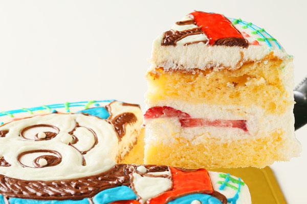 イラストデコレーションケーキ 8号 24cmの画像6枚目
