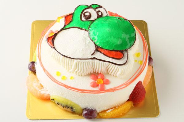 立体キャラクターケーキ 5号 15cmの画像4枚目