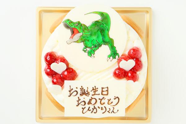 卵アレルギー対応 イラストケーキ 4号サイズ(12cm) 2〜3人用の画像4枚目