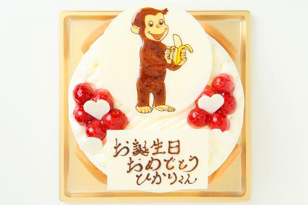 生クリームイラストケーキ 4号の画像5枚目
