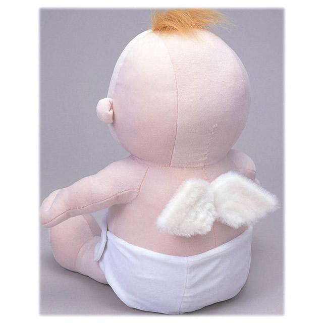 赤ちゃんタイプの体重ドール ドロールエンジェル(名入れ刺繍)【出産祝い 内祝い ベビー 赤ちゃん 誕生日 バースデー プレゼント 贈り物 ギフト お祝い】の画像3枚目