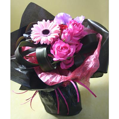 セクシー【ブーケ 花束 花 フラワー 誕生日 バースデー プレゼント 贈り物 ギフト お祝い】