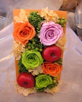 カラーBOX【カラーボックス 花 プリザーブドフラワー 贈り物 ギフト 母の日限定】::1727【バッグ・小物・ブランド雑貨】記念日向けギフトの通販サイト「バースデープレス」