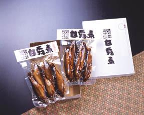 鮎の甘露煮詰合せ【煮 No.1(桐箱入り)】::1745【食品】記念日向けギフトの通販サイト「バースデープレス」