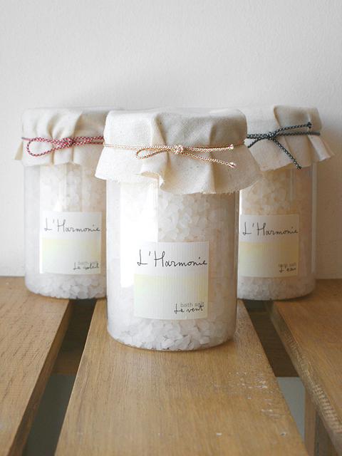 自然を感じるおだやかで清々しい3つの香り 【ロタンティック L'Harmonie - アルモニ - バスソルト】::1759【バッグ・小物・ブランド雑貨】記念日向けギフトの通販サイト「バースデープレス」